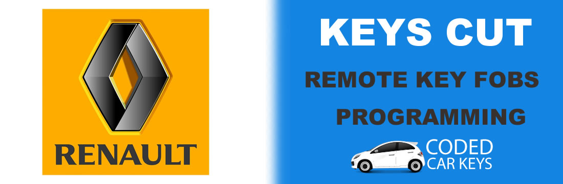 coded car keys Renault car keys cut